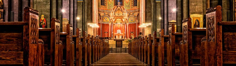 Lugares de culto en Santander