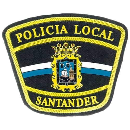 Policia local de Santander Logotipo