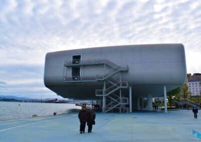 Centro Botín día nublado