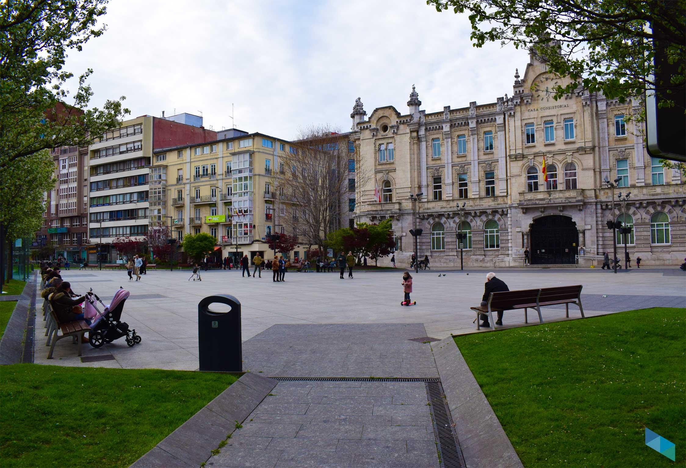 Plaza del Ayuntamiento santander