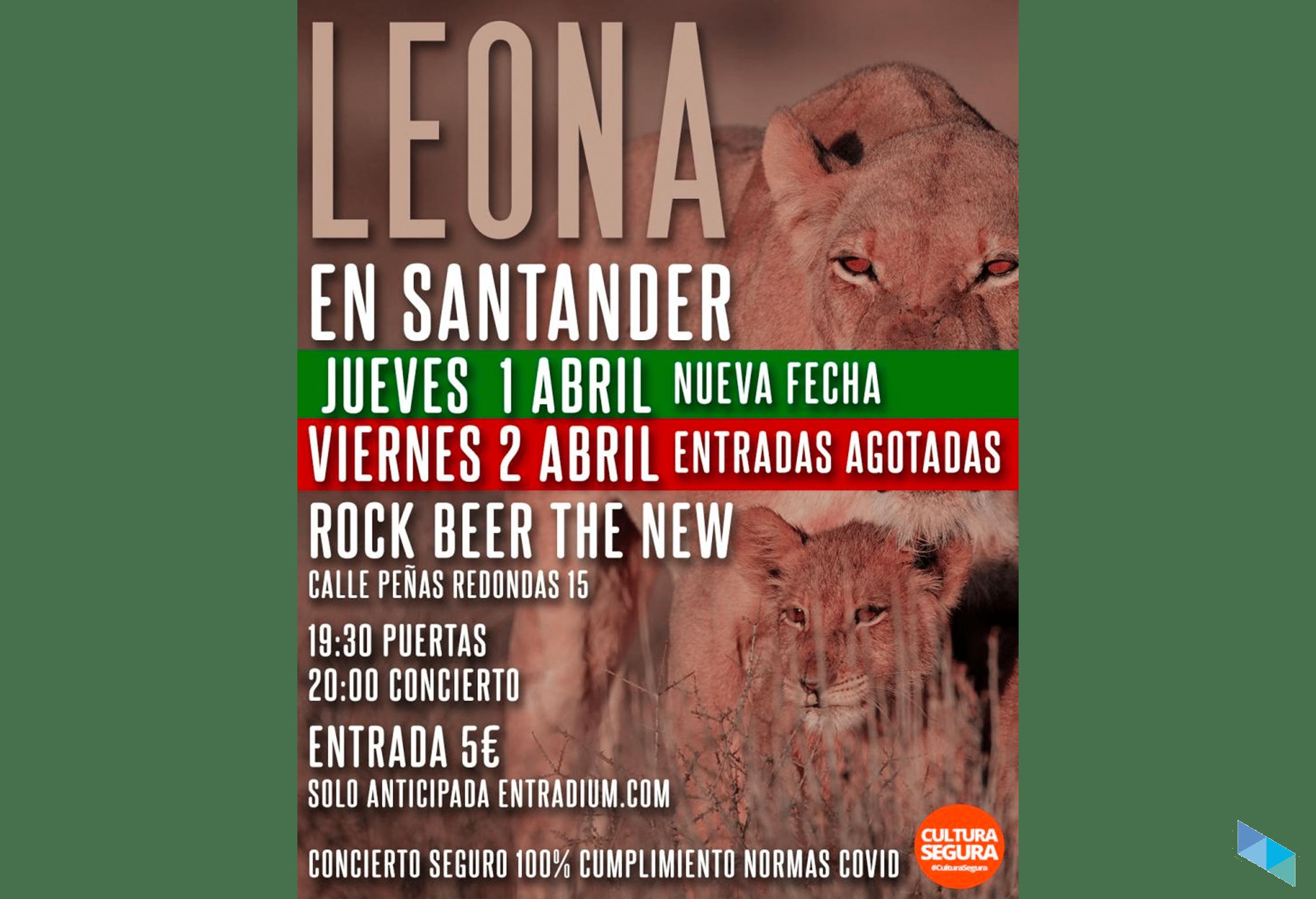 El indie rock de Leona en el New