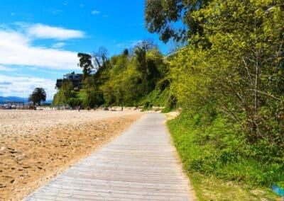La Playa de los Peligros Santander