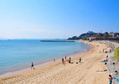 Panorámica de la Playa de la Magdalena