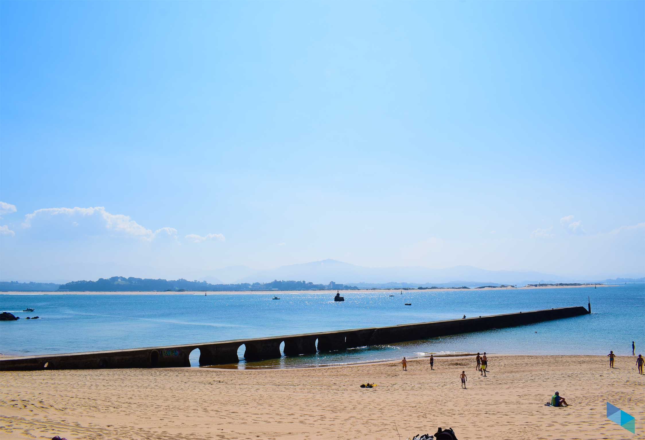 Panoramica de la Playa de Bikini