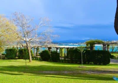Parque de Mataleñas desde arriba hacia el mar