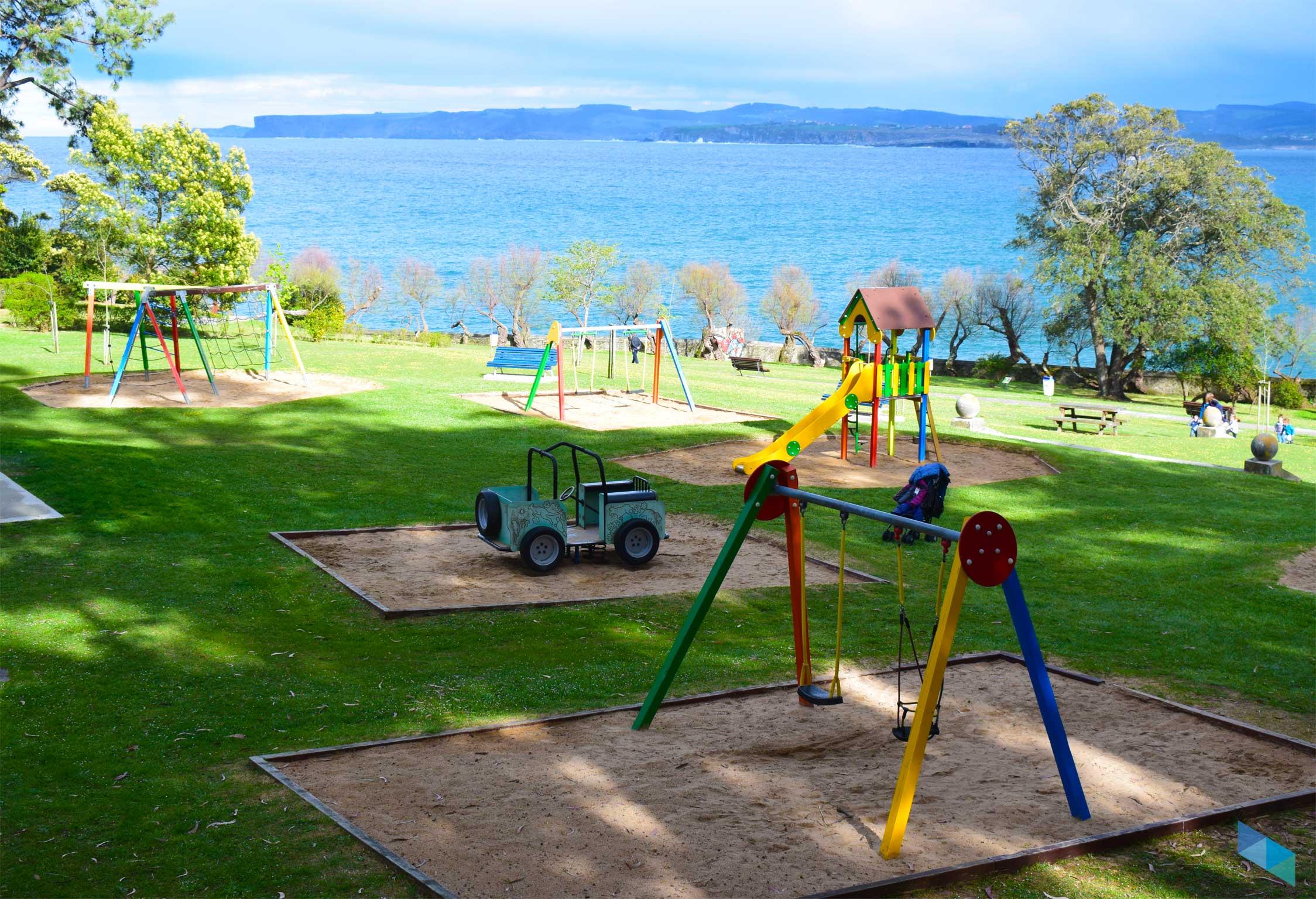 Parque de Mataleñas desde la zona de niños