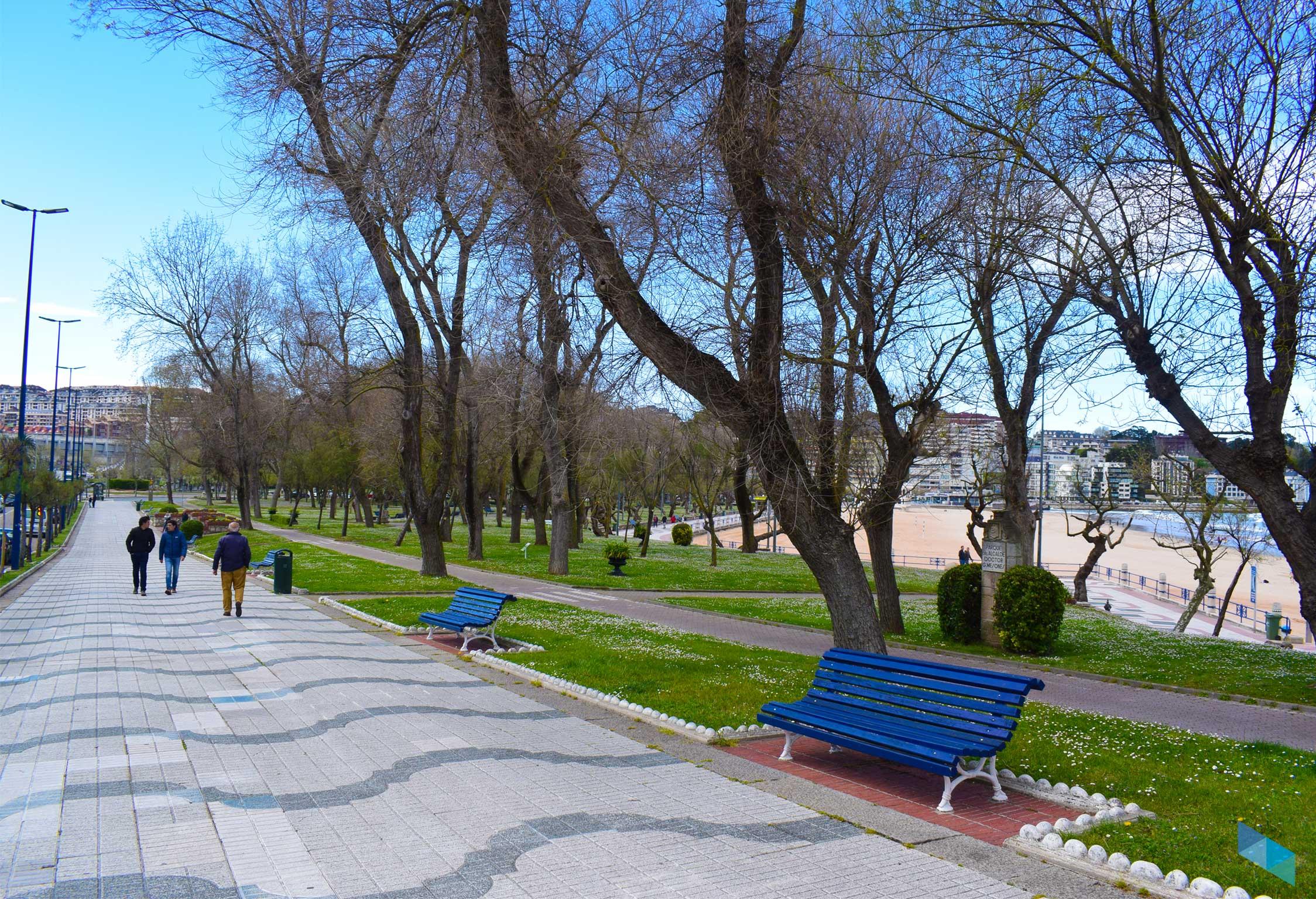 Parque de Mesones entrada