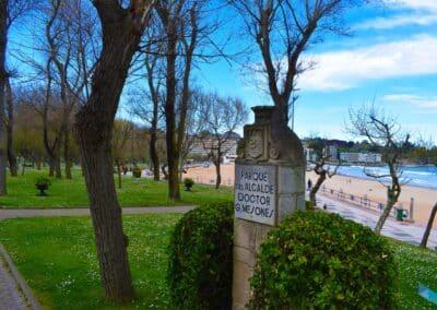 Parque de Mesones letreros