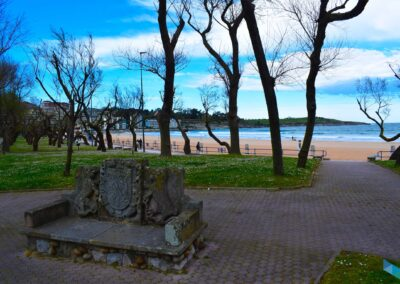 Parque de Mesones banco