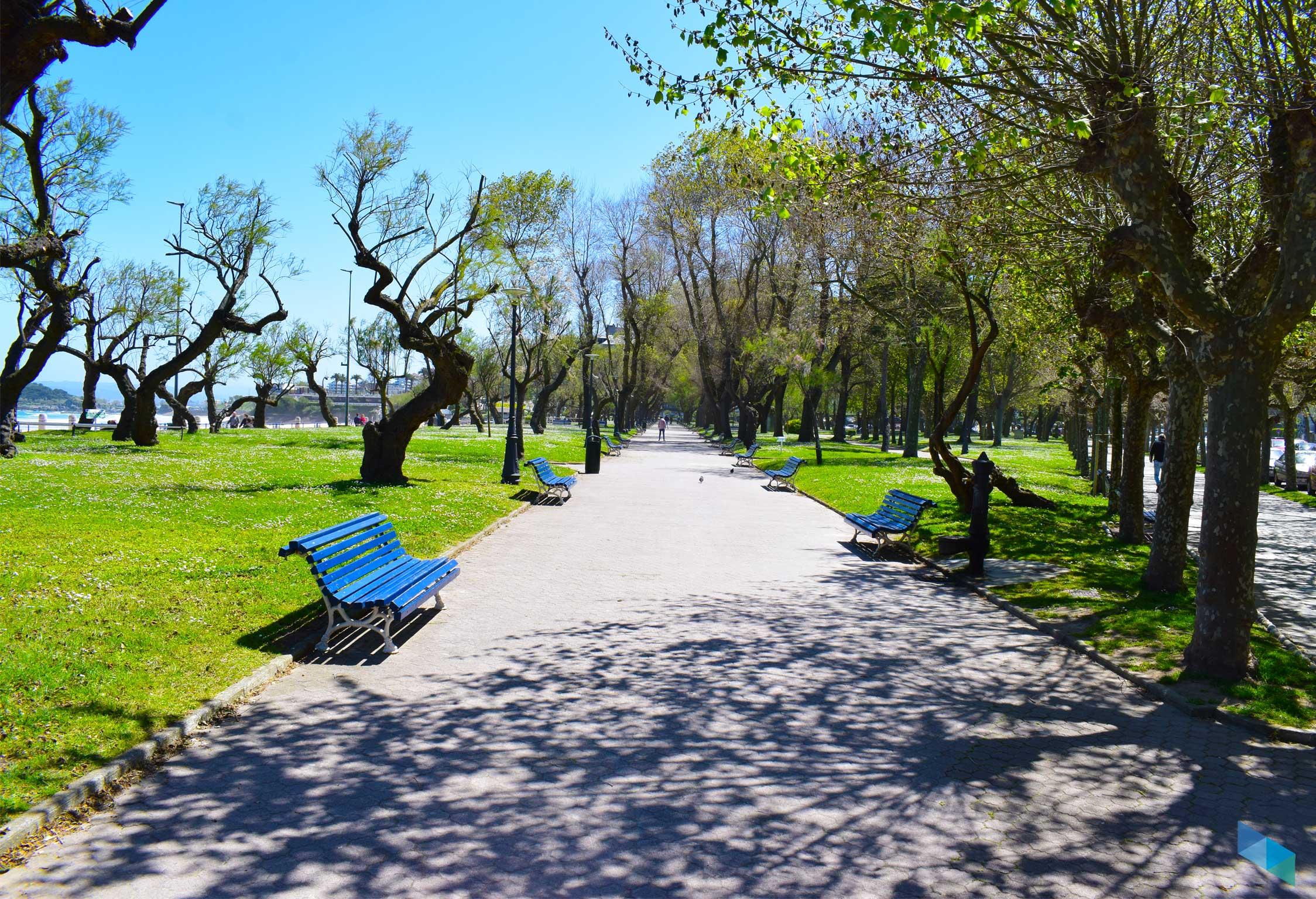 Parque de Mesones bancos