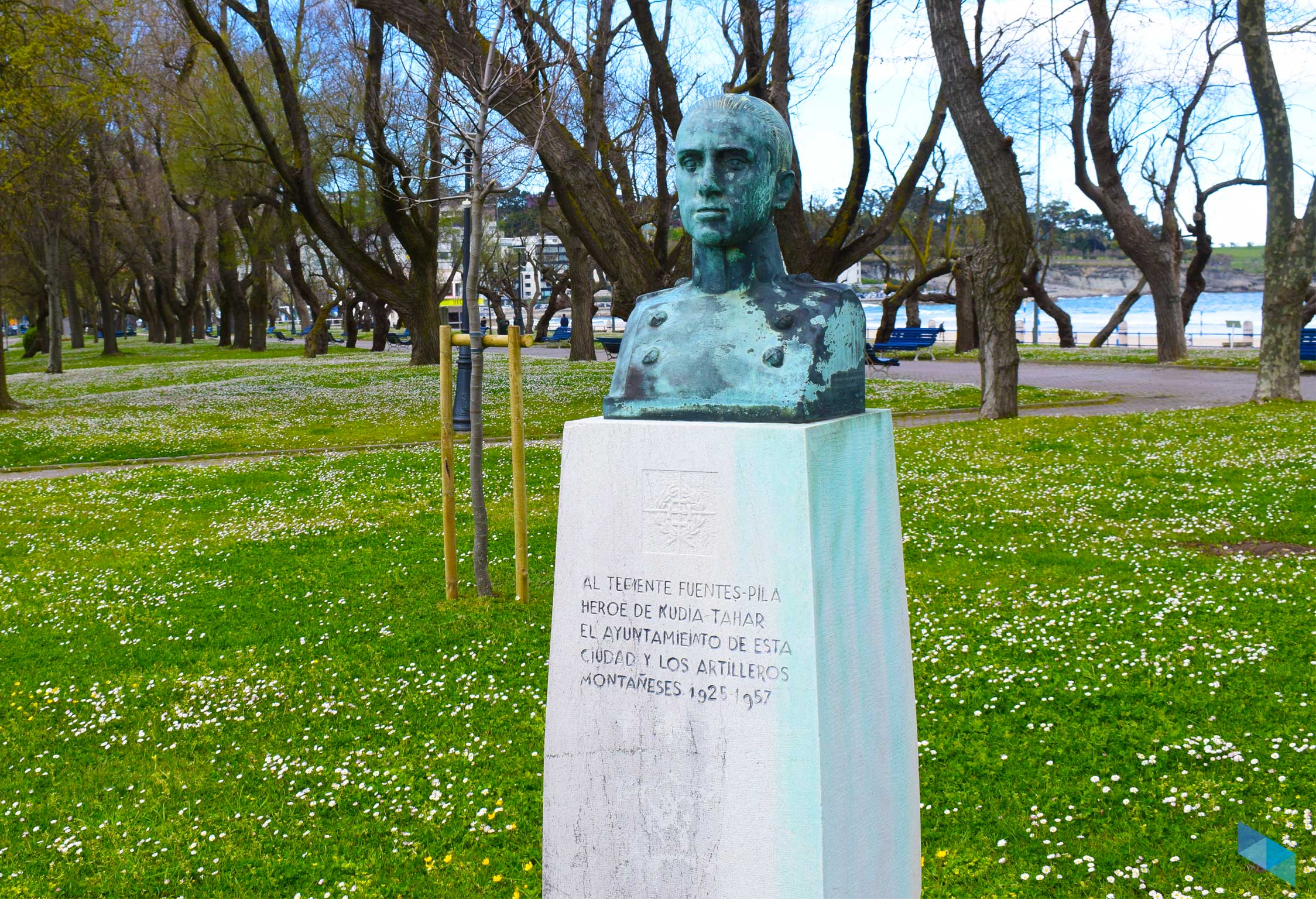Parque de Mesones escultura