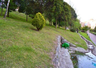 Parque del agua Santander la rana