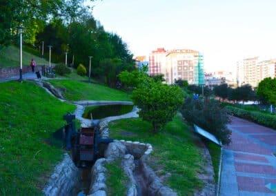 Parque del agua Santander Molino de agua