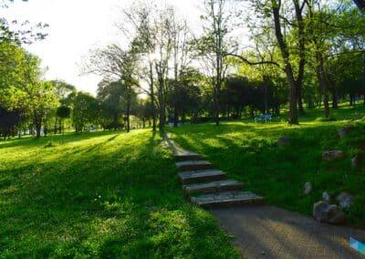 Parque Doctor Morales escaleras