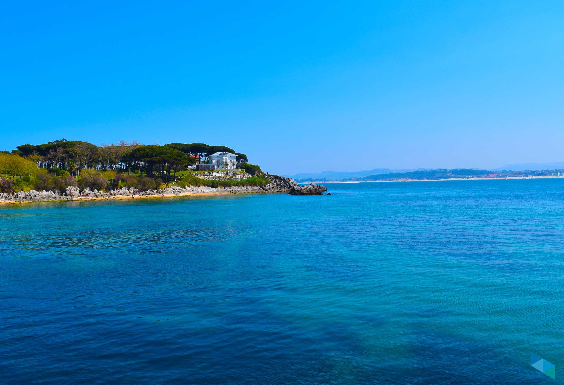 Playa de Bikini desde el Mar
