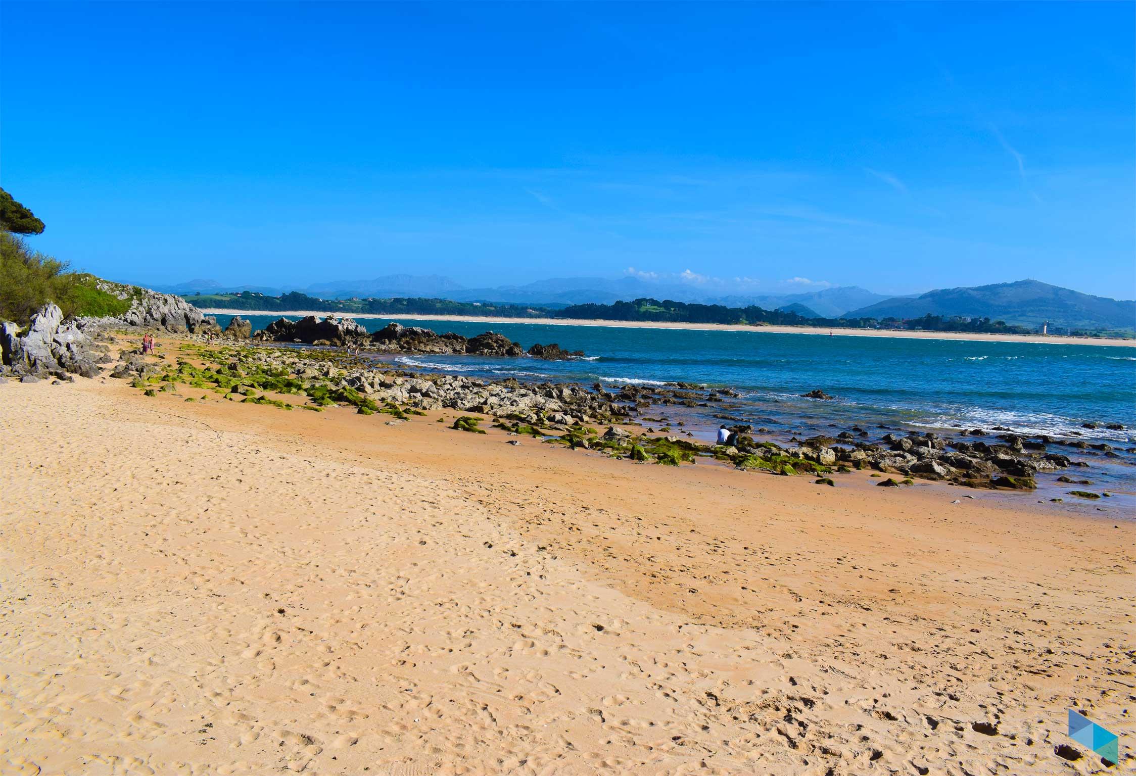 Playa de bikini Marea Baja