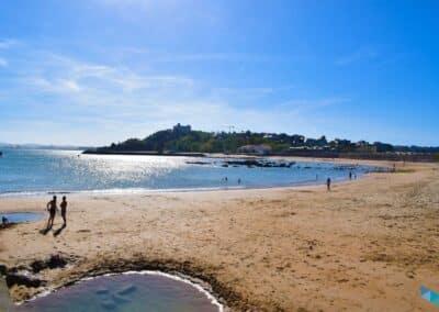 Playa de la Magdalena desde Playa de Bikini