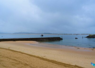 Playa de la Magdalena hacia la playa de bikinis