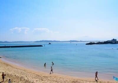 Vista del mar desde la Playa de Bikini