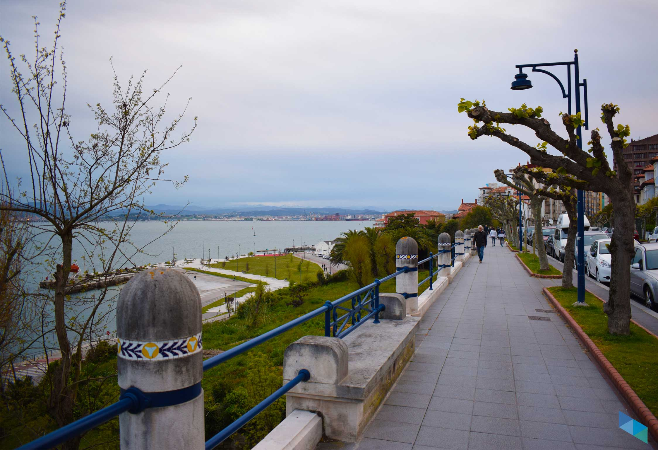 Avenida reina victoria Santander vistas