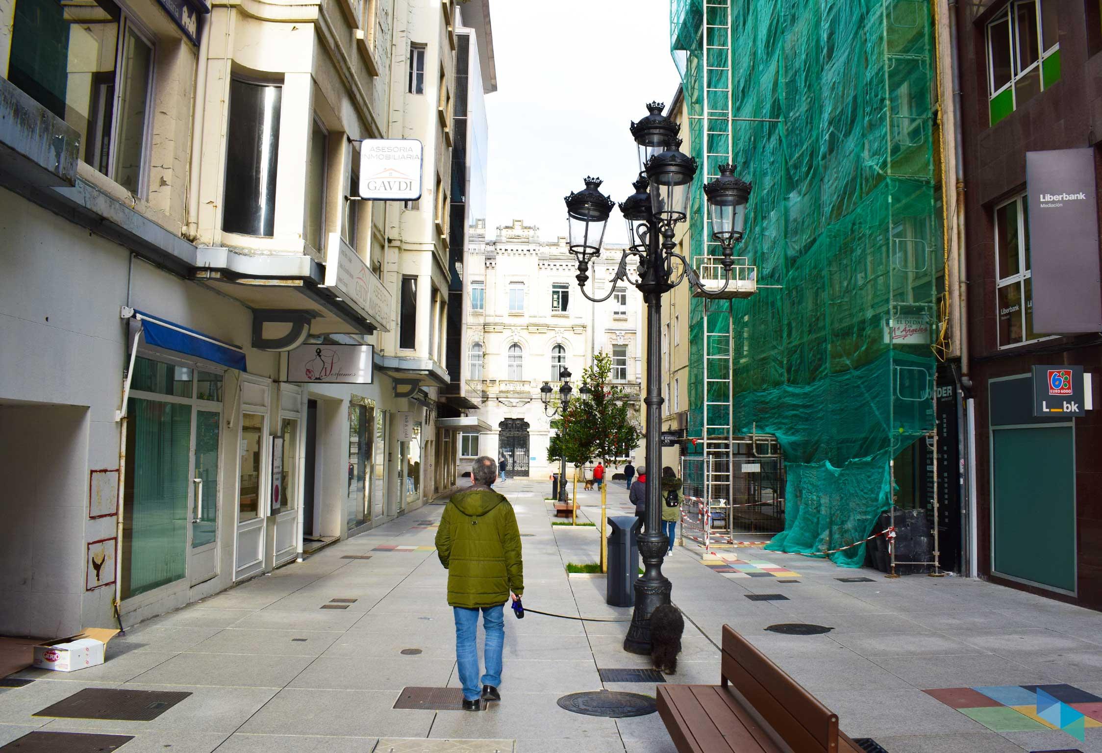Calles comerciales de Santander