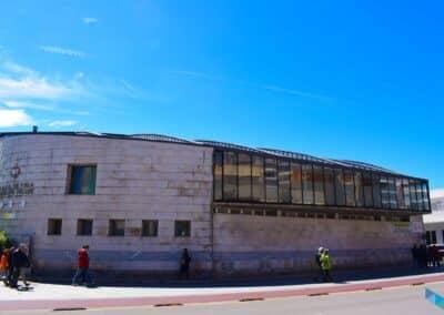 CEAR de vela Principe Felipe Santander fachada