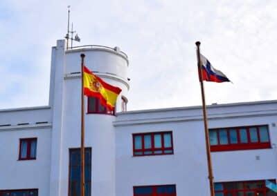 Club Marítimo banderas