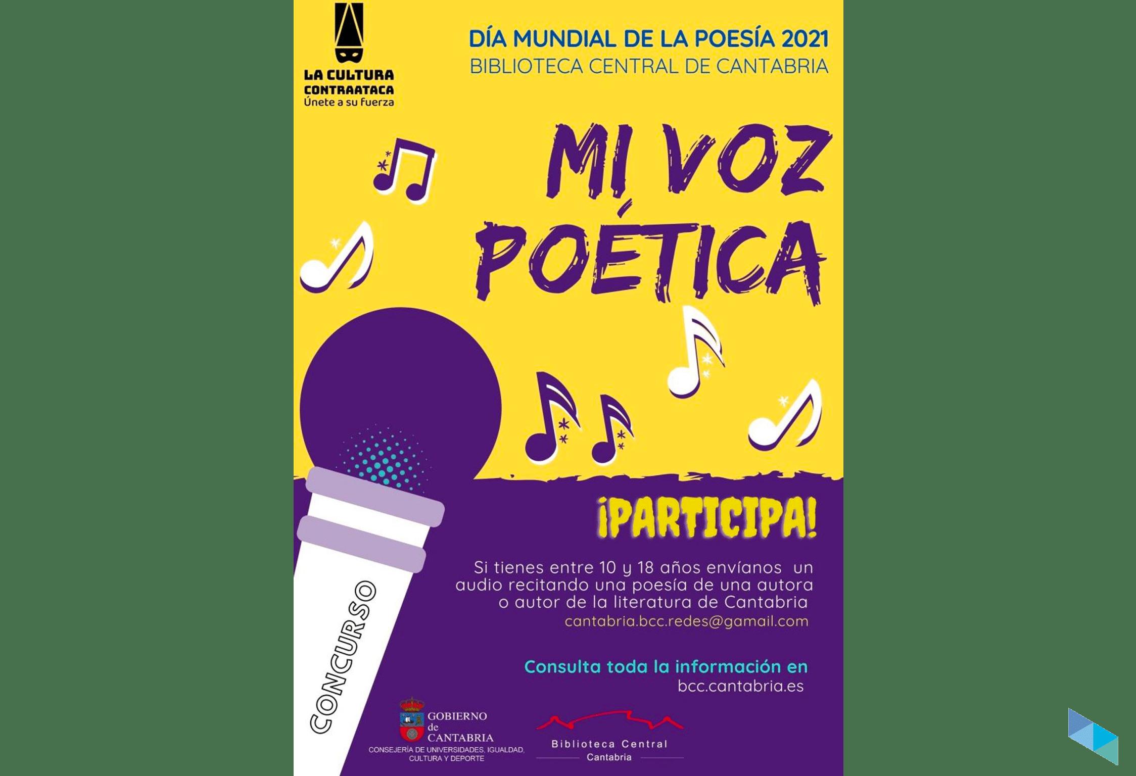 Concurso Mi voz poetica