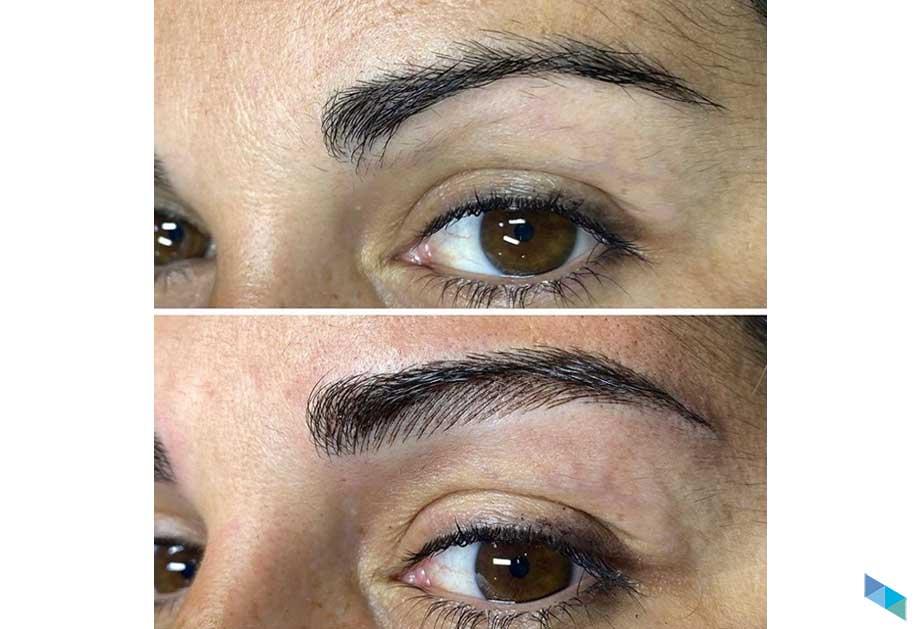 Micropigmentación de cejas Karen clientes 3