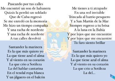 Letra Himno de Santander