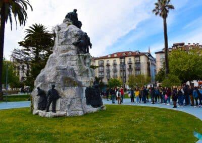 Jardines de Pereda monumentos