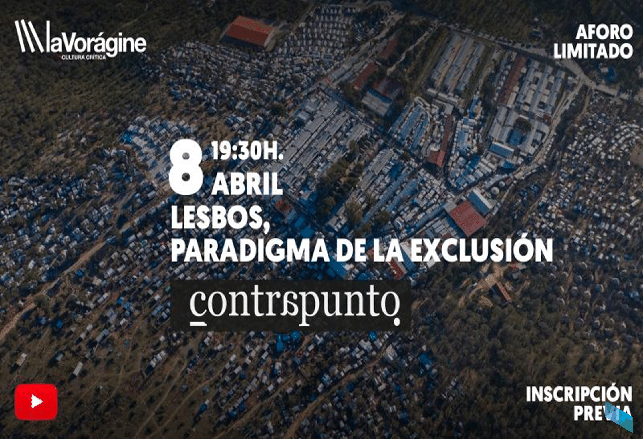 Los campos de refugiados en Lesbos, a debate