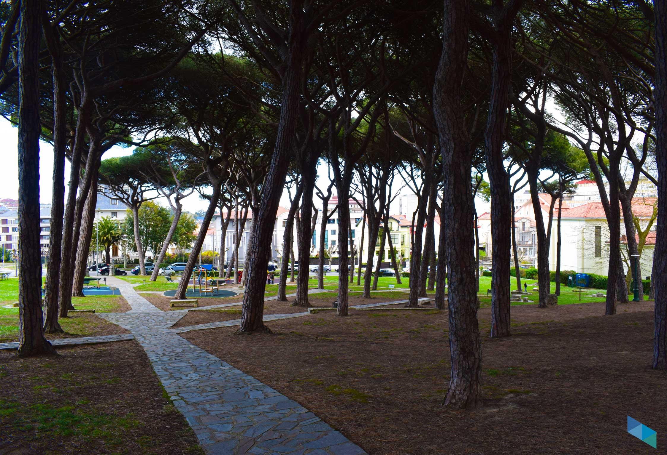 Los pinares de Santander