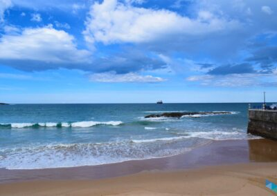 Mar desde la Playa de la Concha