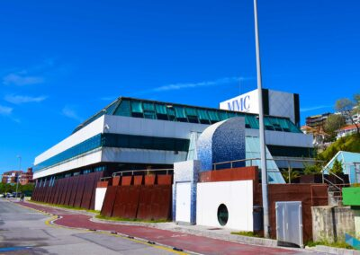 Museo Marítimo Santander desde abajo