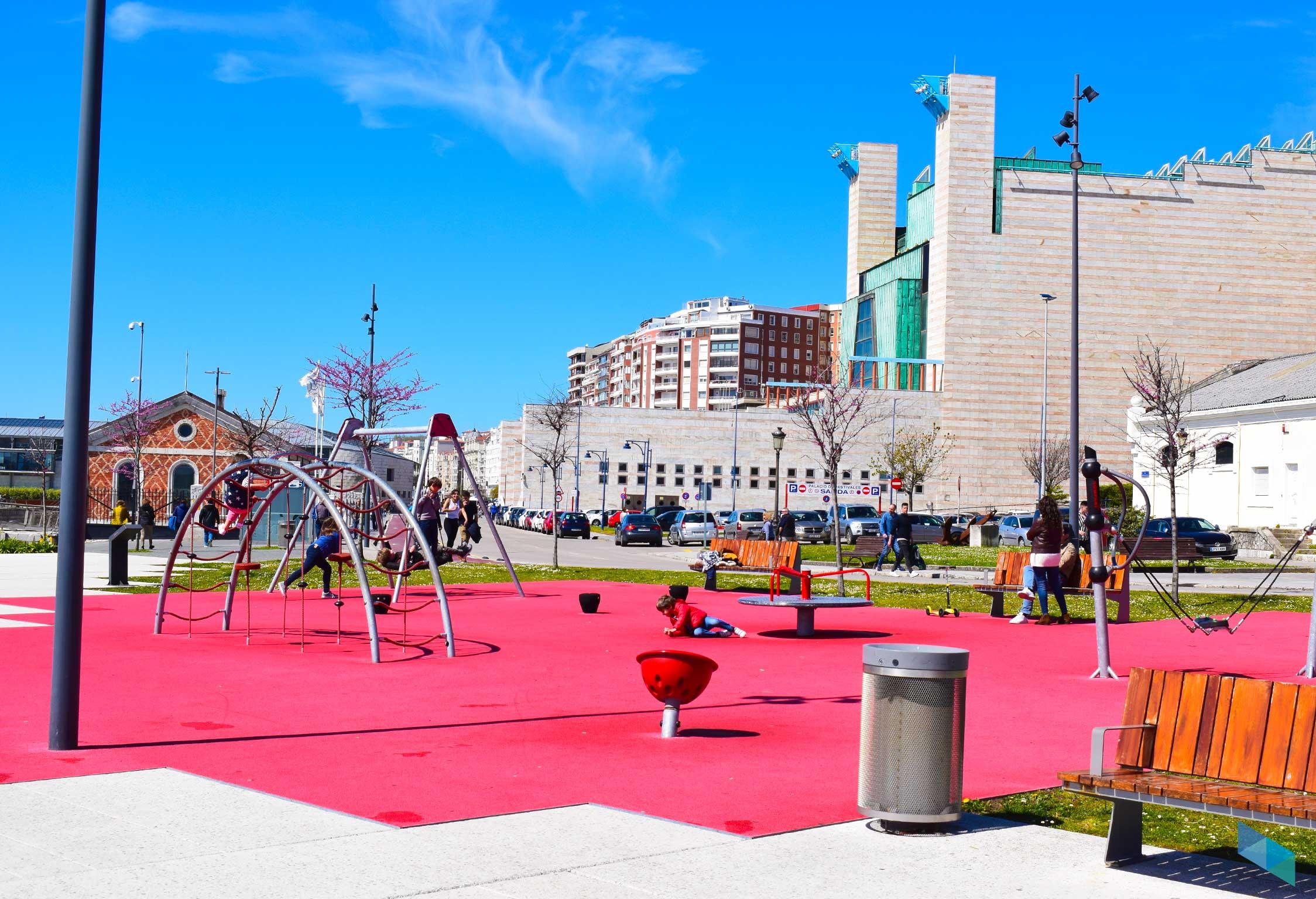 Palacio de festivales zona de niños