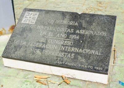 Península de la Magdalena monumento periodistas