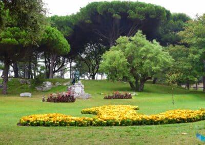 Península de la Magdalena monumentos desde lejos