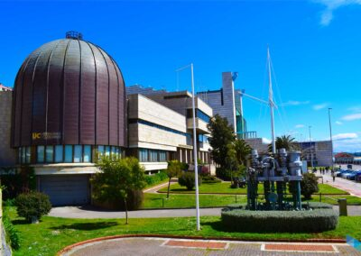 Planetario de Santander frente