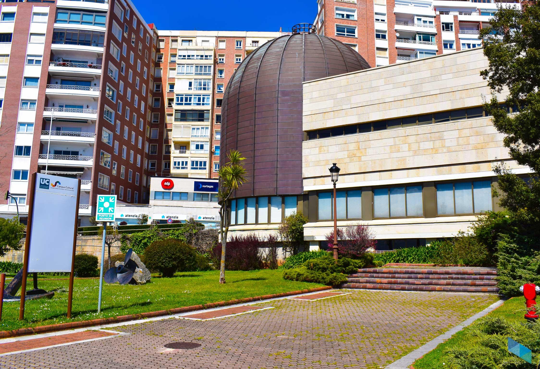 Planetario de Santander entrada