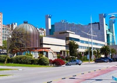 Planetario de Santander panorámica