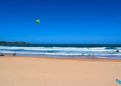 Playa de la Concha cielo despejado