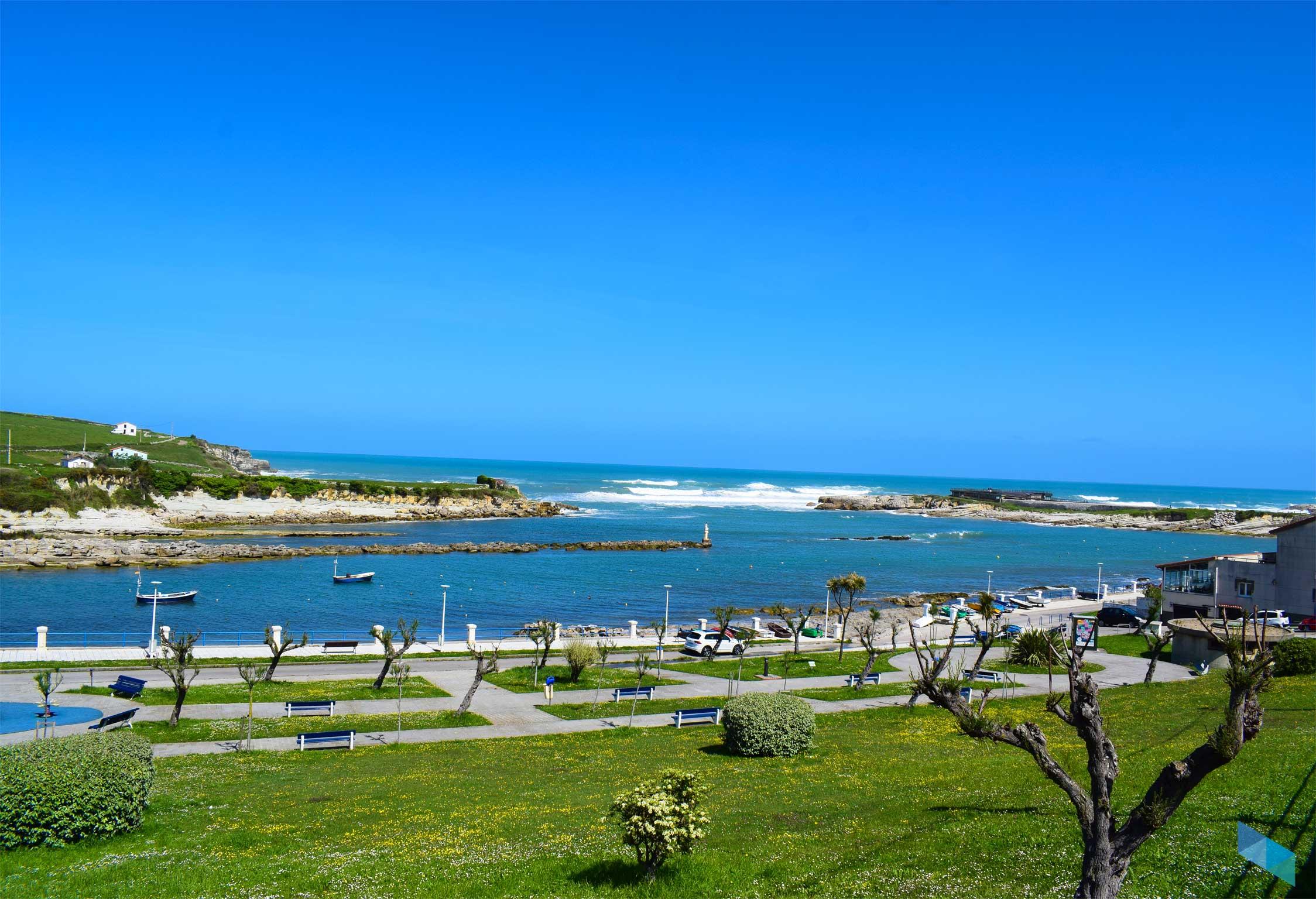 Playa de la Maruca desde lejos
