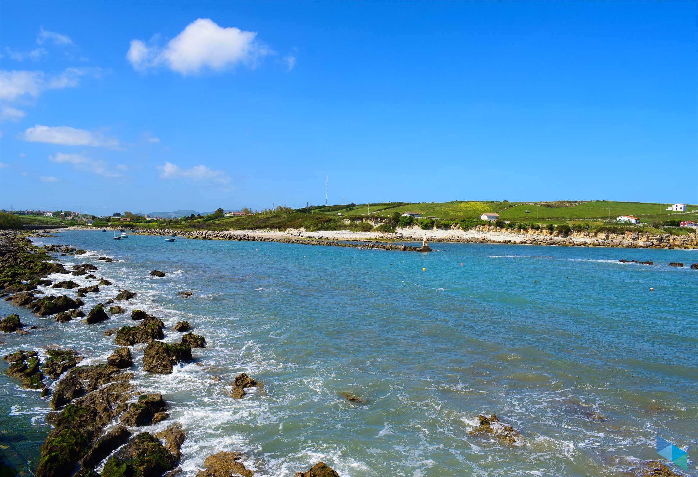 Playa de la Maruca marea alta