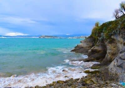 Playa de los Molinos marea alta