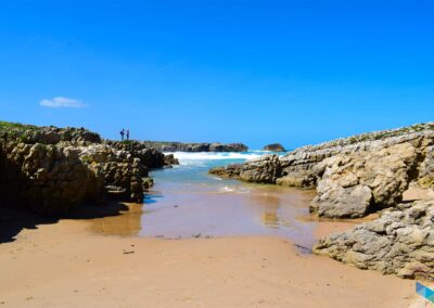 Playa del Bocal hacia el mar