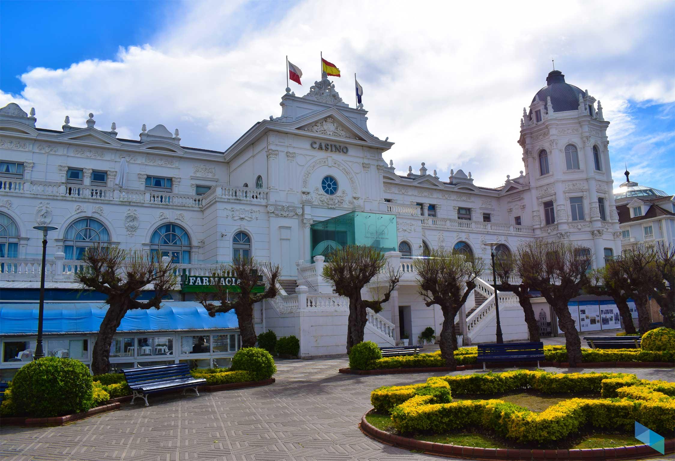 Plaza de Italia frente al casino