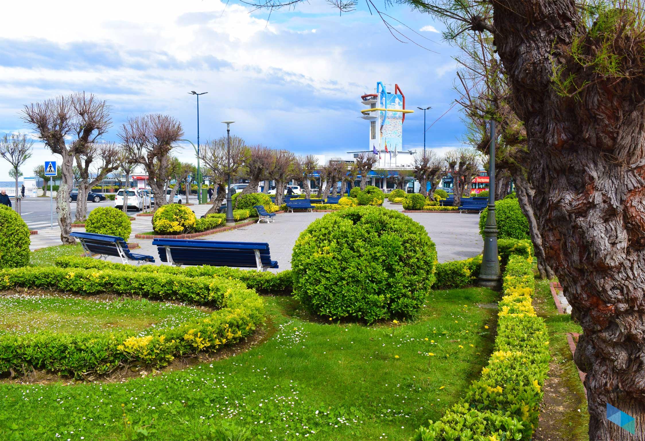 Plaza de Italia lateralmente
