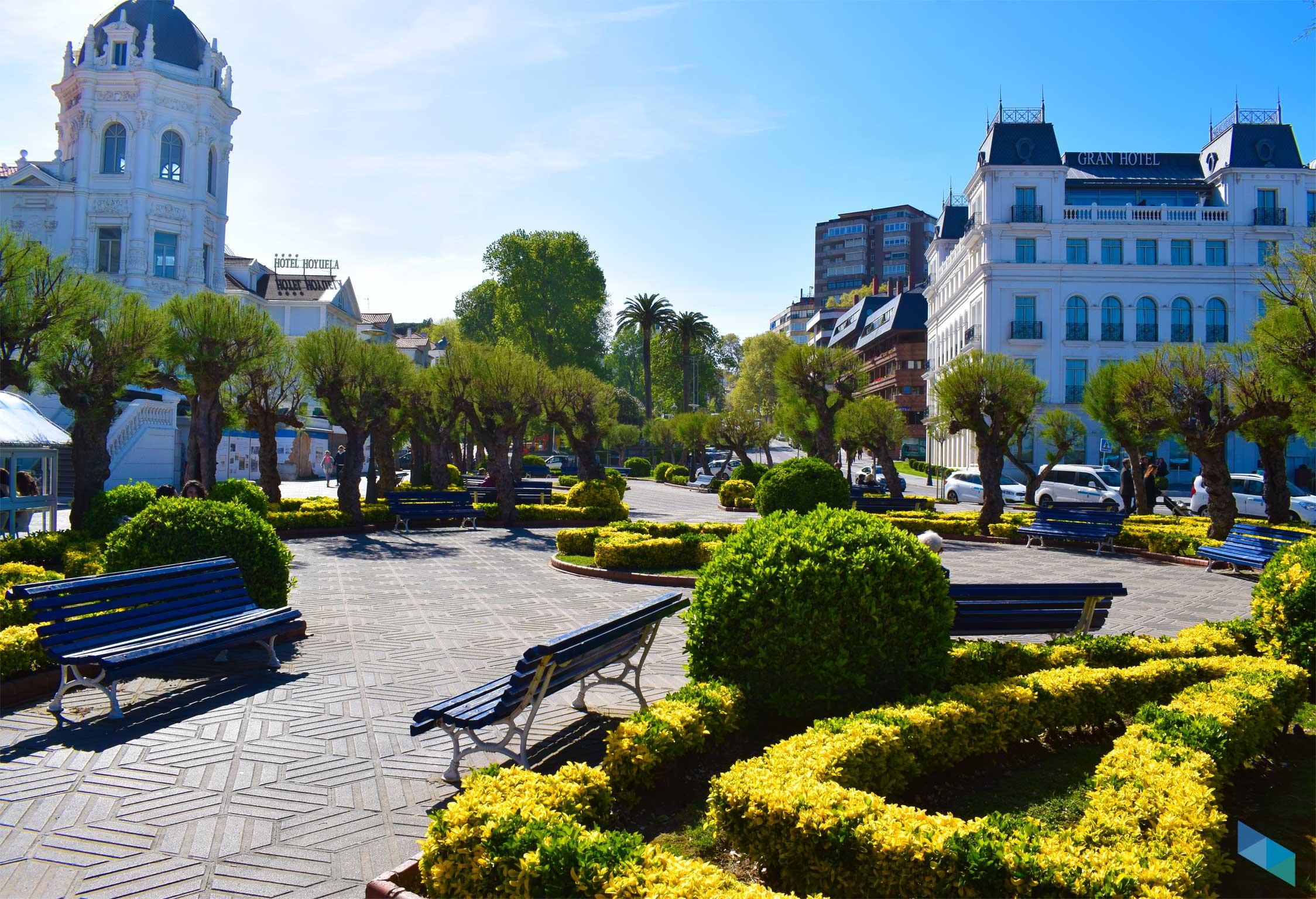 Plaza de Italia vegetación