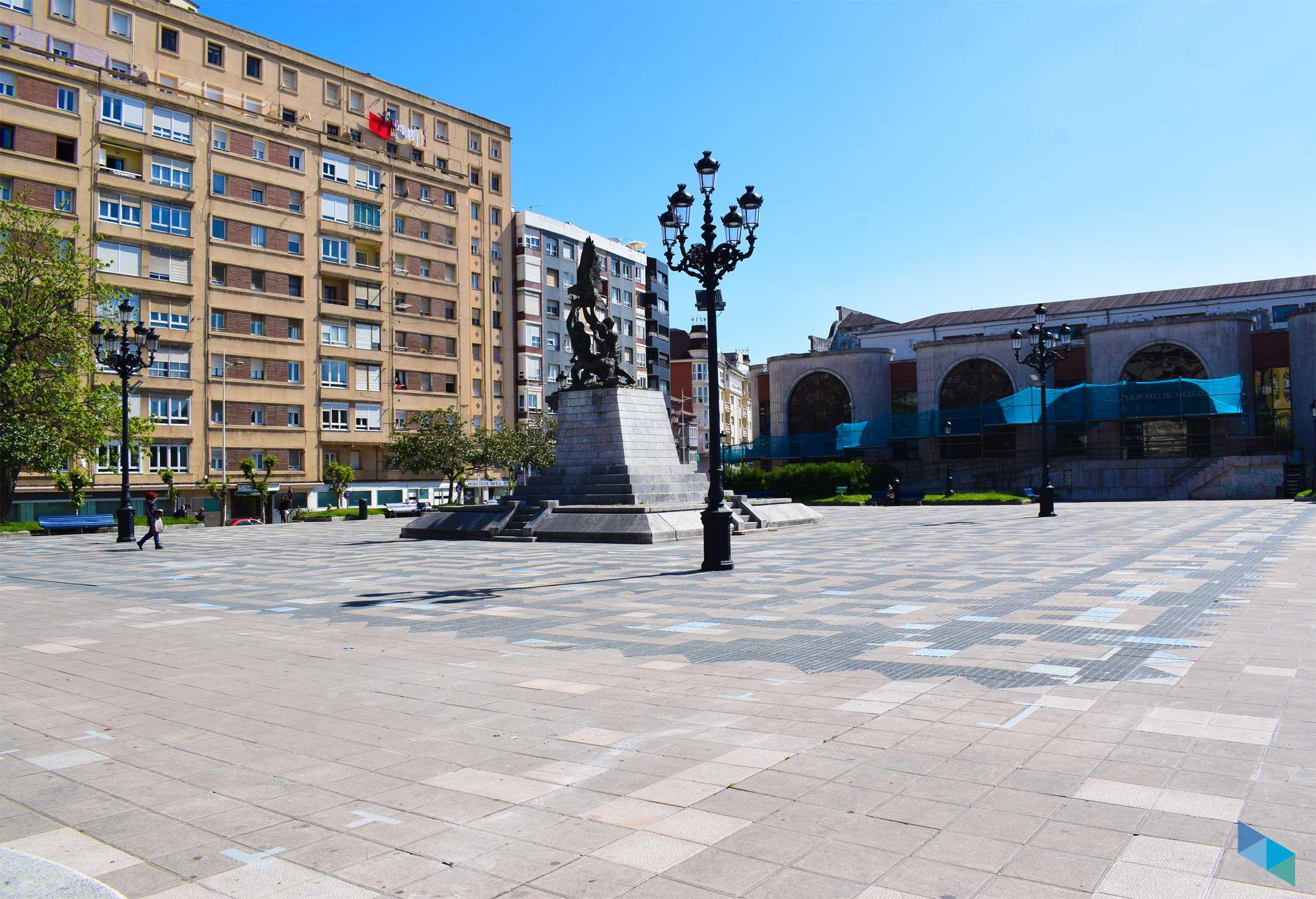 Plaza de Méjico entera